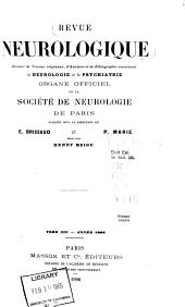 Revue neurologique: Volume14