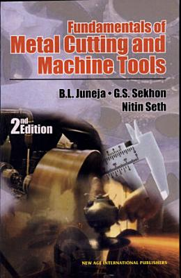 Fundamentals of Metal Cutting and Machine Tools PDF