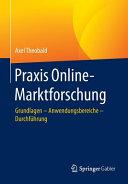 Praxis Online Marktforschung PDF