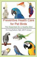 Preventative Health Care for Pet Birds PDF