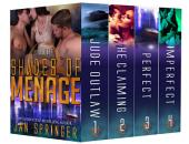 Shades of Ménage: A Ménage Romance Box Set Series - Ultimate Four-Book Collection