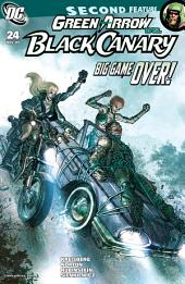 Green Arrow and Black Canary (2007-) #24