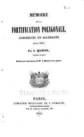 Mémoire sur la fortification polygonale: construite en Allemagne depuis 1815