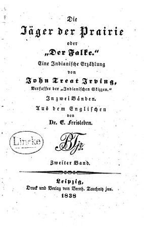 Die J  ger der Prairie  oder   Der Falke  PDF