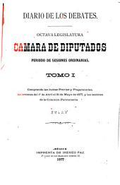 Diario de los debates: Volumen 1