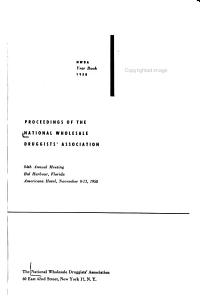 Proceedings of the National Wholesale Druggists Association PDF