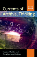 Currents of Archival Thinking PDF
