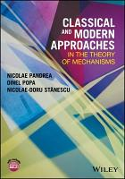 Classical and Modern Approaches in the Theory of Mechanisms PDF