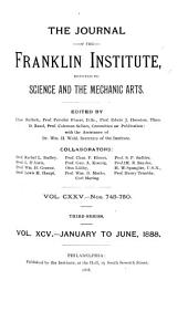 Journal of the Franklin Institute: Volume 95; Volume 125