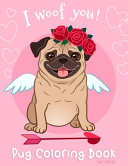 Pug Coloring Book For Girls