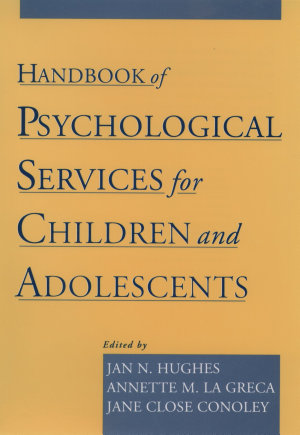 Handbook of Psychological Services for Children and Adolescents PDF