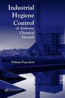Industrial Hygiene Control of Airborne Chemical Hazards PDF