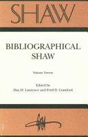 Bibliographical Shaw PDF