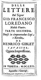 Opere: divise in otto volumi. Lettere ; 2. parte, Volume 7