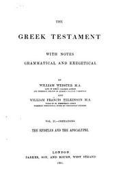 The Greek Testament: With Notes Grammatical and Exegetical, Volume 2