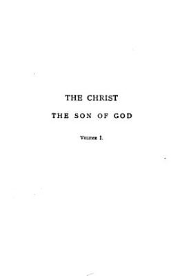 The Christ  the Son of God PDF