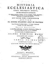 Historia ecclesiastica Variis colloquis digasta