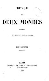 Revue des deux mondes: Volume6;Volume113