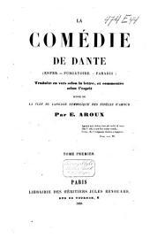 La comédie de Dante: Volume1