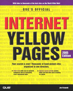 Que s Official Internet Yellow Pages  2005 Edition