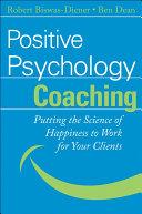 Positive Psychology Coaching