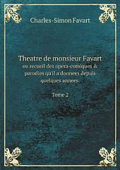 Theatre de monsieur Favart