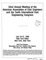 Annual Meeting of the American Association of Cost Engineers PDF