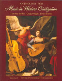 Anthology for Music in Western Civilization
