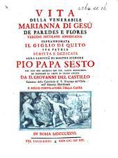 Vita della Venerabile Marianna di Gesù de Paredes e Flores, etc