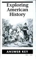 Exploring American History Answer Key PDF