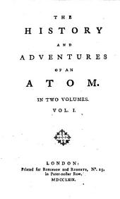 The history and adventures of an atom [by T.G. Smollett].