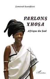 Parlons xhosa Afrique du Sud