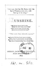 Sunshine   Followed by  Starlight PDF