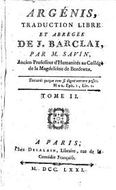 Argénis: Volume2