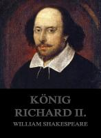 K  nig Richard II  PDF