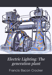Electric Lighting: The generation plant
