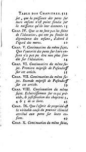 Théorie des loix civiles, ou Principes fondamentaux de la société: Volume2