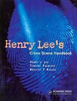 Henry Lee s Crime Scene Handbook PDF