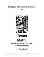 Texas Math  PDF
