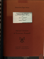 Productivity and International Competitiveness in Japan and the United States, 1960-1985