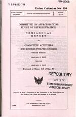 Semiannual Report of Committee Activities