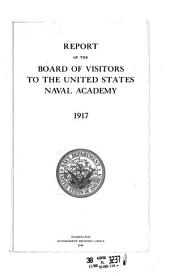 Report of the Board of Visitors to the Unided States Naval Academy