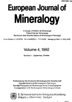 European Journal of Mineralogy PDF