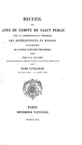 Collection de documents inédits sur l'histoire de France: Volume69,Numéro5