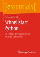Schnellstart Python PDF