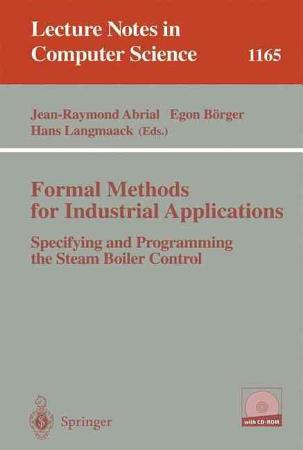 Formal Methods for Industrial Applications PDF