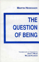 The Question of Being PDF