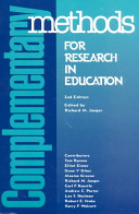 Complementary Methods for Research in Education PDF