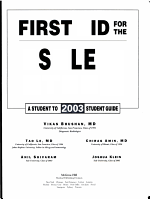 First Aid for the USMLE Step 1 PDF