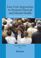 Low Cost Approaches to Promote Physical and Mental Health PDF